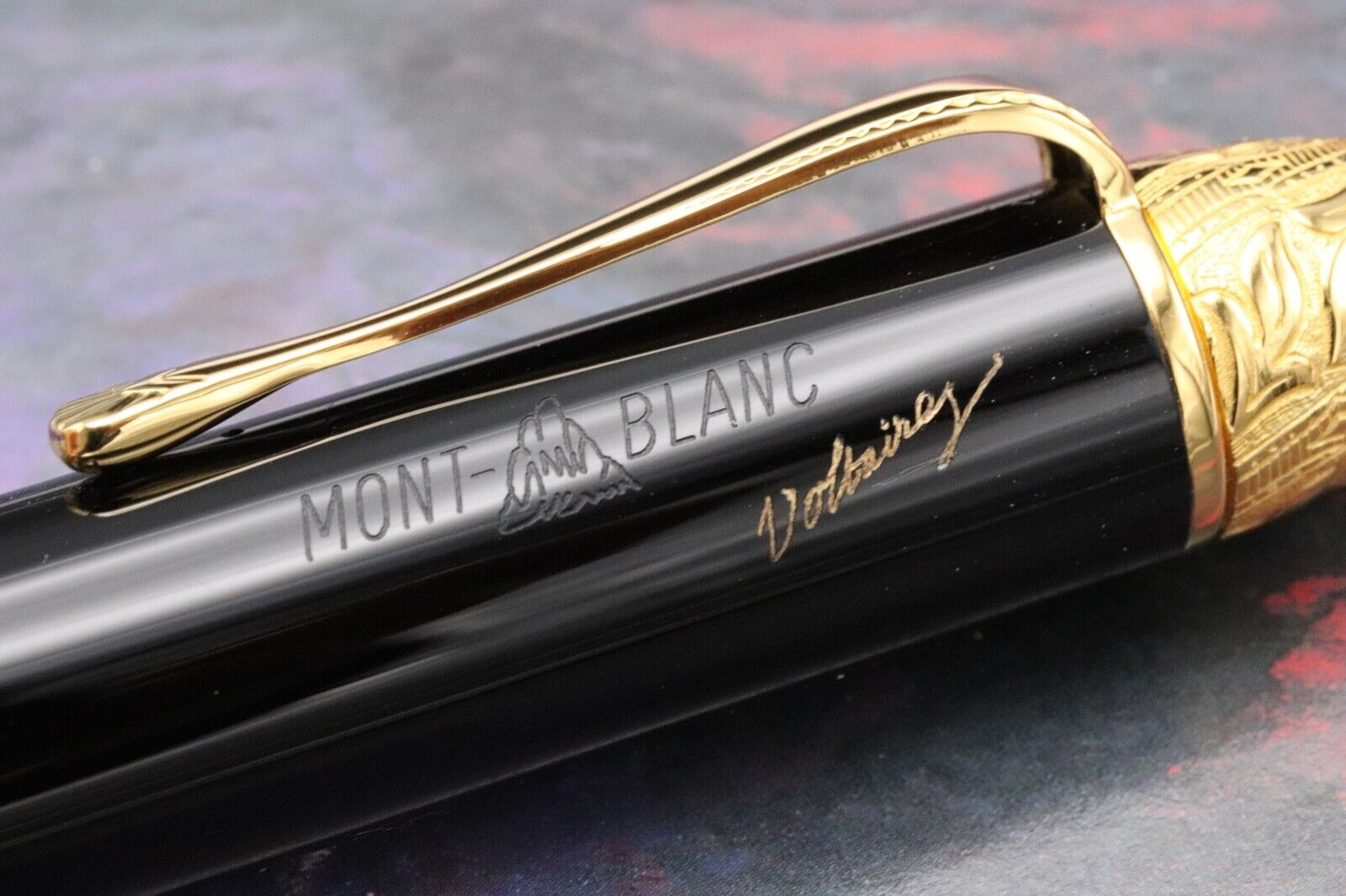 Montblanc Voltaire Writers Limited Edition Fountain Pen 3