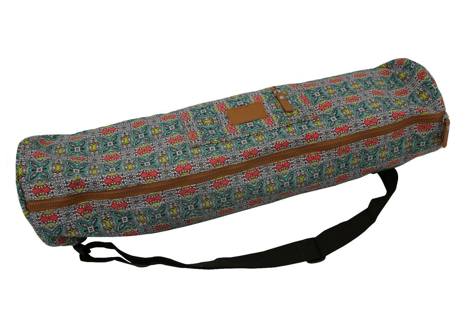 sol yoga mat carrier bag with shoulder