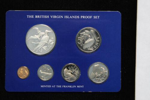 1977 British Virgin Islands Proof Set Franklin Mint