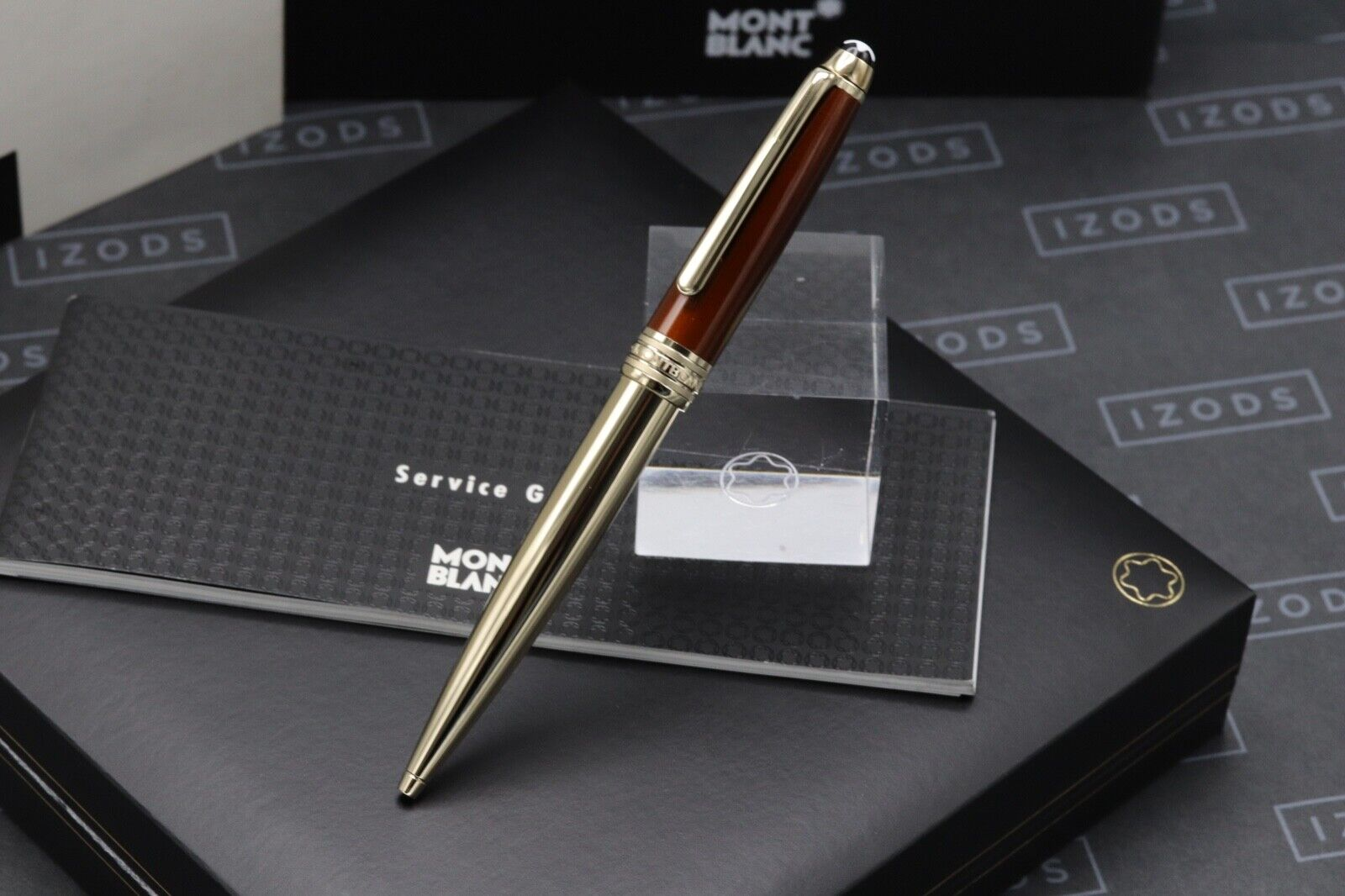 Montblanc Meisterstuck 164 Classique Solitaire Citrine Ballpoint Pen 1