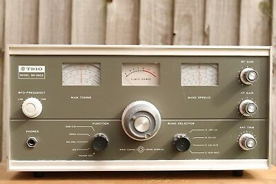 TRIO 9R-59DS RADIO COMMUNICATIONS RECEIVER