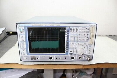 Rohde Schwarz Fsem 30 Spectrum Analyzer 1 Hz - 26.5 Ghz Calibrated Opt B4 B5