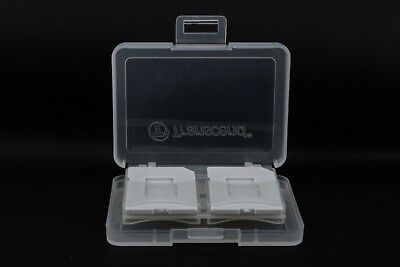 Transcend 4 SD / microSD Memory Card Storage Carrying Case