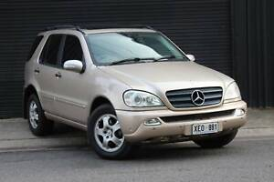 2004 Mercedes-Benz ML 350 LUXURY Automatic SUV Mile End South West Torrens Area Preview