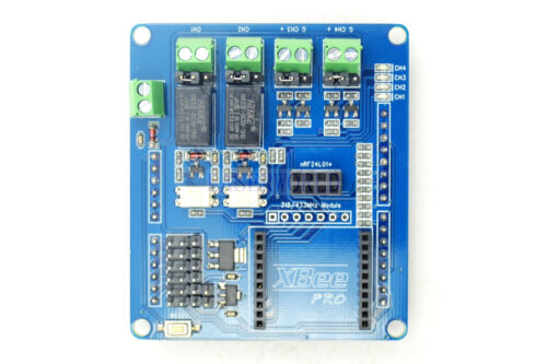 Multi-Channel Relay Shield For Open Source Xbee BTbee Bluetooth NRF24L01