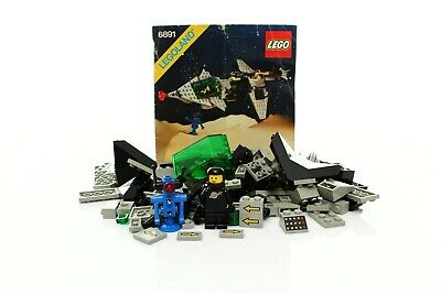Lego Classic Space Set 6891 Gamma V Laser Craft 100% complete +instructions 1985