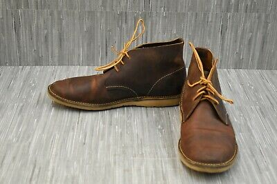 Red Wing Heritage Weekend Chukka 3322 Boots, Men's Size 10D, Brown
