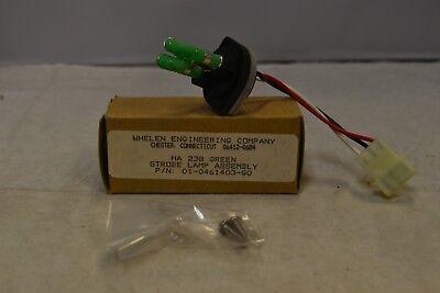 Whelen HA238 Strobe Lamp Assembly-Green Strobe Assembly