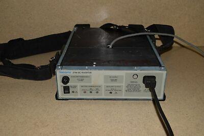Tektronix 2704 Dc Inverter W Model 2705 Battery Pack