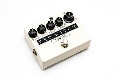 Red Witch Famulus Distortion electric guitar FX pedal