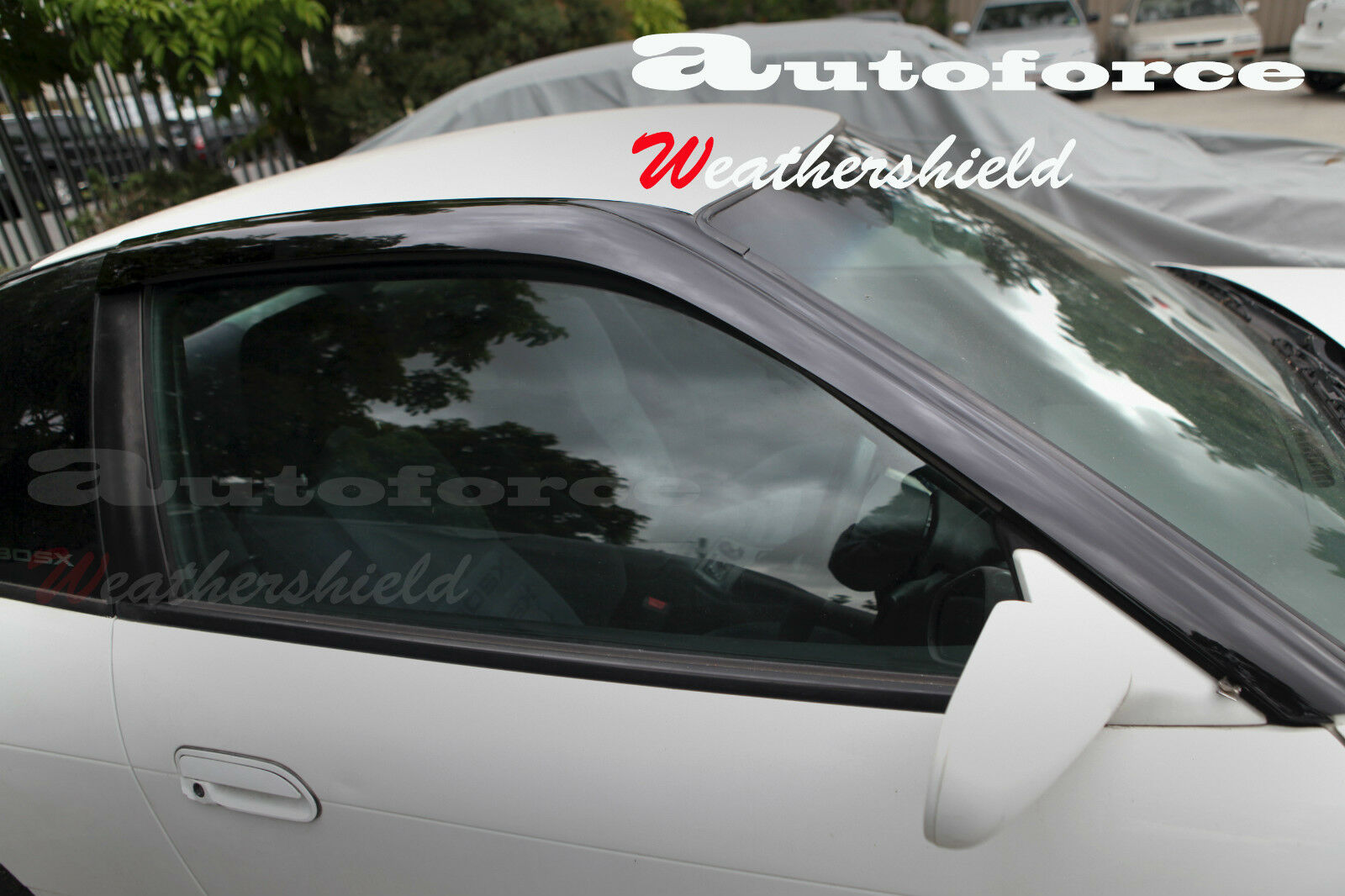 nissan 180sx ca18 sr20 weather shield weathershield window