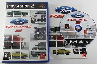 PLAY STATION 2 PS2 FORD RACING 3 COMPLETO PAL ESPAÑA usato  Spedire a Italy