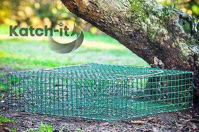 Squirrel Trap - Galvanised PVC Coated - Multi Catch