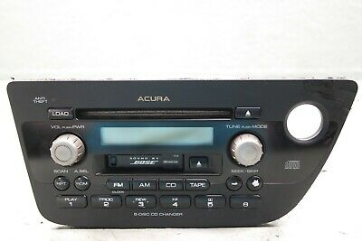 02-06 Acura RSX Type-S OEM BOSE RSX RADIO 6 CD Disc Changer Tape Player Stereo