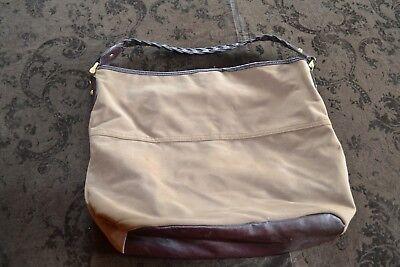 •♥• H & M Handtasche Sack Damentasche braun Tasche •♥•