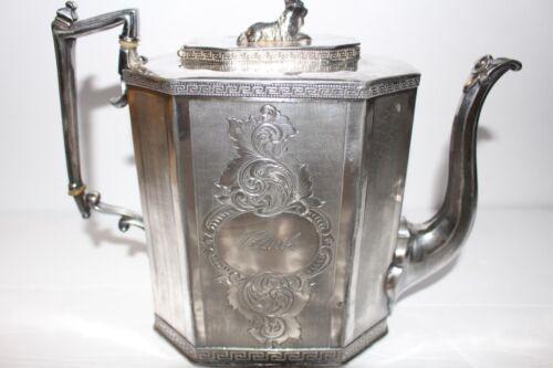 Beautiful Antique1917 Coffee Tea Set Silver