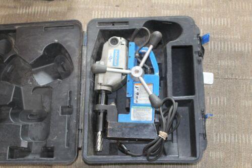 Hougen Hmd904 Magnetic Mag Drill Press 115v with case