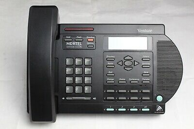 Nortel Venture Black 3-line Digital Business Office Phone