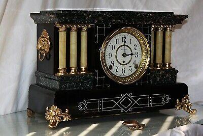SETH THOMAS Mantel Antique Clock c/1900- Totally RESTORED --UNLISTED No.1