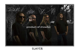 SLAYER-AUTOGRAPHED-SIGNED-ORIGINAL-POSTER-GREAT-PIECE-OF-MEMORABILIA