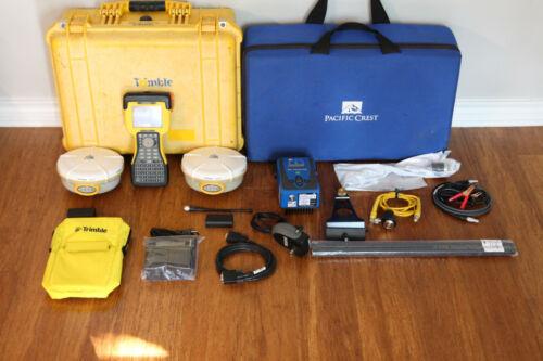 Trimble Dual 5800 L1 L2 GPS RTK Base Rover Survey Setup 450-470MHz w/ ADL TSC2