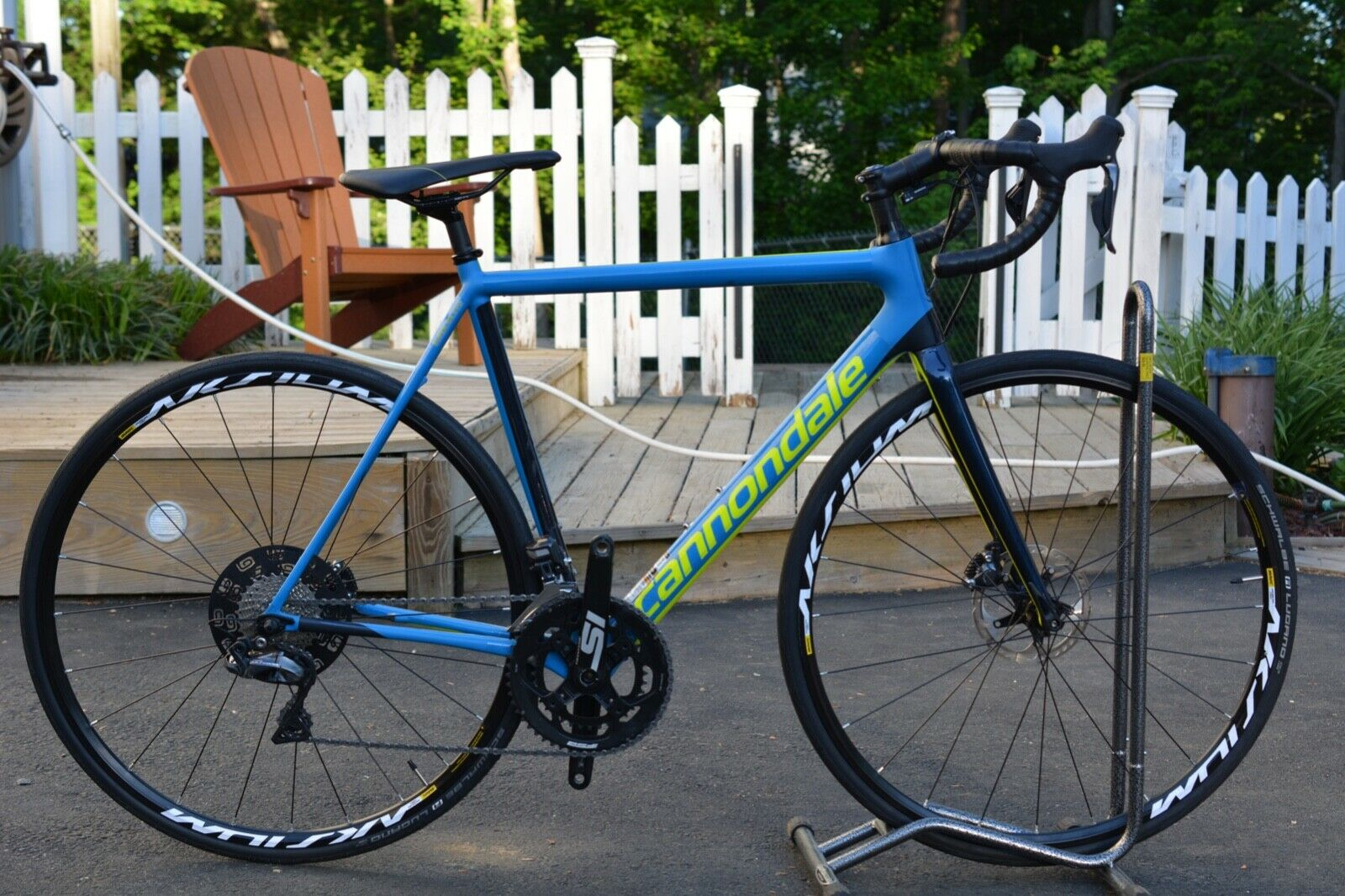 e441dd6f62f New , size 54 Cannondale 2019 road bike, Blue and Yellow