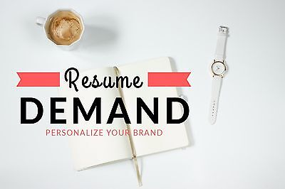 Resume Writing Service By Resume Demand