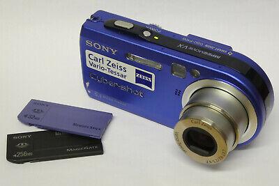 Sony Cybershot DSC-P100 Digitalkamera mit optischem Sucher P100 gebraucht blau
