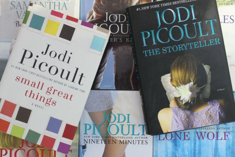 Lot of 5 Jodi Picoult Romance Hardcover Books MIX