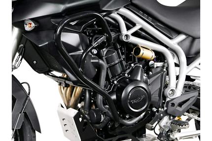 Triumph tiger 800xc 800 crash bars engine protection SW motech