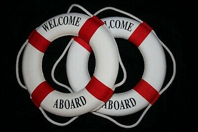 Nautical Theme Decorations ((2) Nautical Theme New Employee Office Party Decor, Welcome Aboard Life)