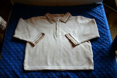 Tee shirt polo baby dior beige 18 mois ira bien avec salopette baby dior 18 mois