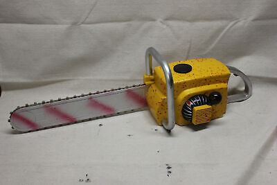 Working Halloween Animated Bloody Chainsaw Prop Texas Chainsaw Massacre