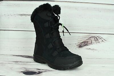 Columbia Women's Ice Falls Winter Insulated Snow Boot Black US Sizes - Black Women Booty
