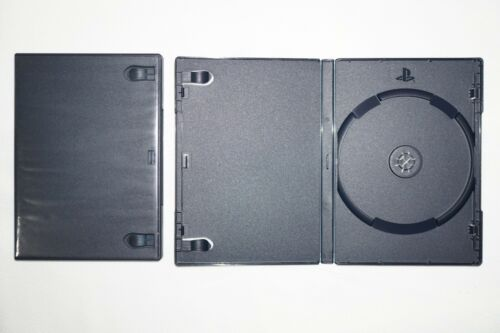 Genuine OEM Sony PlayStation 2 Replacement Game Case with PS2 Logo