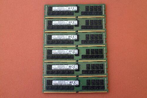 6 x 32GB Samsung M393A4K40CB2-CTD7Y PC4-2666V ECC Registered Server Memory (2V