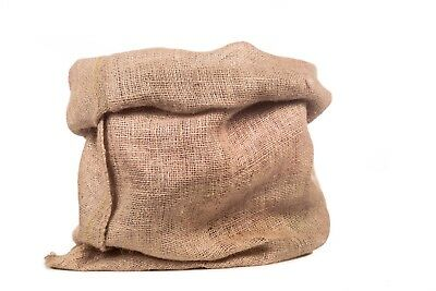 "(1) Small Burlap Bags 19"" x 12"" - Jute Sacks Bag Gunny Feed Gift Bag Wedding"