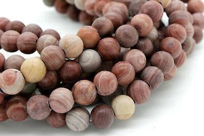 Matte Red Malachite Round Ball Sphere Loose Gemstone 8mm Beads - 2.5mm hole Malachite 8mm Round Beads