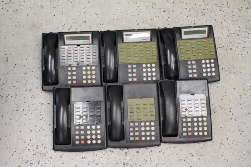 lot of 6 AVAYA / LUCENT PHONES 34D AND EURO 18 . ALL TESTED AND WORKING
