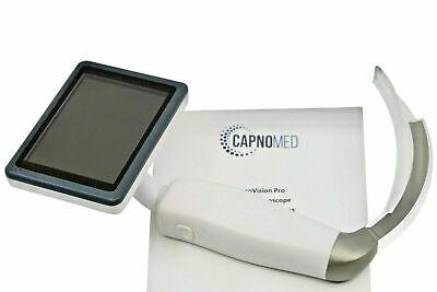 Airway Intubation Hd Video Laryngoscope Kit Display Portable Rechargeable Fda