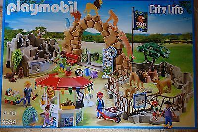 Playmobil City Life  6634 Mein großer Zoo  NEU + OVP