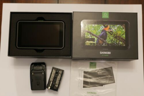 "Atomos Shinobi 5"" 4K HDMI HDR Photo & Video Monitor with NP-F770 Battery"