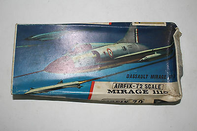AIRFIX ROYAL AIR FORCE DASSAULT MIRAGE 111C, 1:72 SCALE, BOXED
