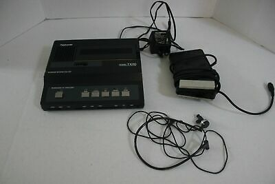 Olympus Pearlcorder T1010 Microcassette Transcriber Ac