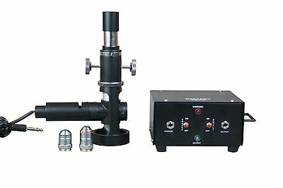 Portable Cordless Rechargable Led Metallurgical Metallograph Microscope 600x