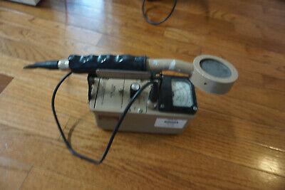 Ludlum 3 Survey Meter Geiger Counter Radiometer 44-9 Pancake Probe P-32 S-35