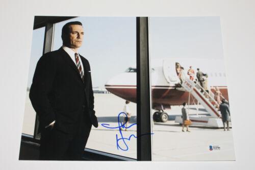 ACTOR JON HAMM SIGNED 'MAD MEN' DON DRAPER 11X14 PHOTO AMC BECKETT COA BAS
