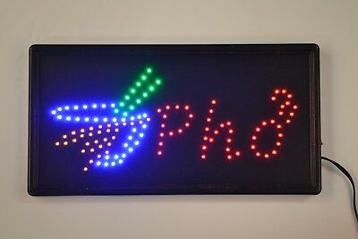 Ultra Bright Led Neon Light Animated Motion With Onoff Store Pho Business Sign