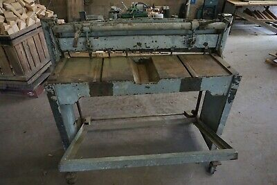 42 Sheet Metal Foot Or Jump Shear On Casters