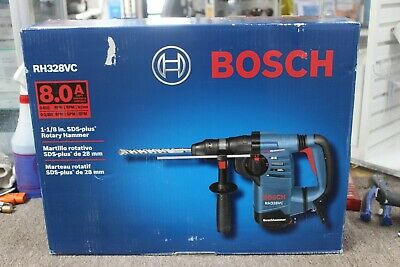 Bosch Rh328vc 8.0 Amp 1-18 Sds Plus Rotary Hammer New Free Shipping